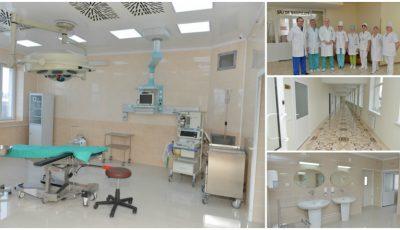 """Cum arată blocul de chirurgie proaspăt renovat al spitalului ,,Sf. Arhanghel Mihail"""" din Capitală"""