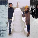 Foto: Ți-ar plăcea să sculptezi în zăpadă? Vino la Chisinau Snow Sculpt, iar creațiile tale vor fi admirate de o lume întreagă