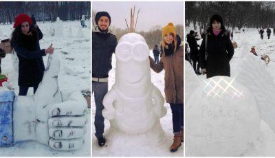 Ți-ar plăcea să sculptezi în zăpadă? Vino la Chisinau Snow Sculpt, iar creațiile tale vor fi admirate de o lume întreagă