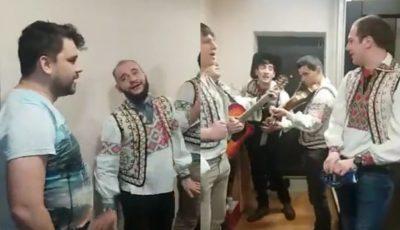 Anatol Melnic a primit urători! Vezi cum l-au urat cei de la Zebra Show și cum s-a descurcat în rol de gazdă
