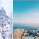 Foto: Imagini spectaculoase! Iată cum arăta Moldova astăzi dimineață
