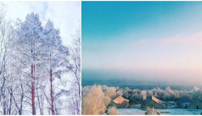 Imagini spectaculoase! Iată cum arăta Moldova astăzi dimineață