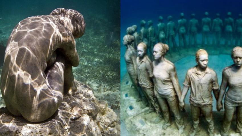 Foto: Primul muzeu subacvatic din Europa a fost deschis! Vezi cum arată