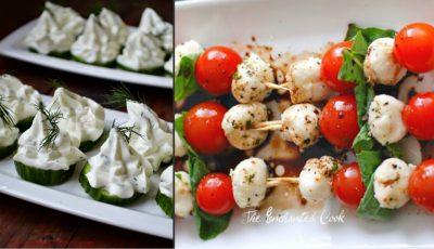 Câteva idei ingenioase de gustări pentru masa de Crăciun!