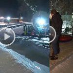 Foto: Distracție pe zăpadă! Pârtia de la Dănceni a adunat zeci de tineri la săniuș și multă mișcare în aer liber