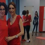 Foto: Interpreta Cristina Spătar vrea să-și facă pătrățele pe abdomen cu Unica Sport