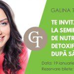 Foto: Galina Tomaș: Detoxifierea după sărbători