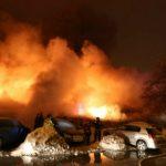 Foto: Zeci de răniți într-un incediu din Capitala României