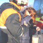 Foto: O tânără, rănită grav în urma unui accident între două microbuze pe traseul Bălţi-Chişinău! Vezi video