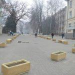 Foto: Cum arată scuarul proaspăt renovat din strada Bulgară?