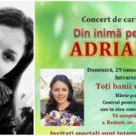 Foto: Vedetele s-au mobilizat pentru a o ajuta pe Adriana Proca, fetița bolnavă de leucemie. Vino și tu la concertul caritabil!