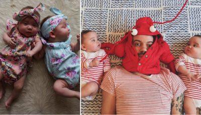 Matt Crump a devenit celebru pe Instagram datorită gemenelor sale adorabile!