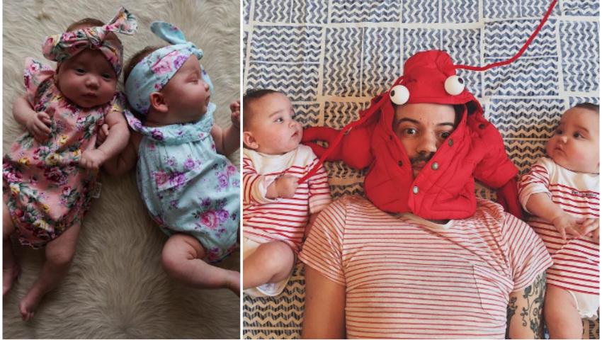 Foto: Matt Crump a devenit celebru pe Instagram datorită gemenelor sale adorabile!