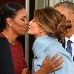 Foto: Ce cadou i-a oferit Melania Trump lui Michelle Obama de ziua investirii