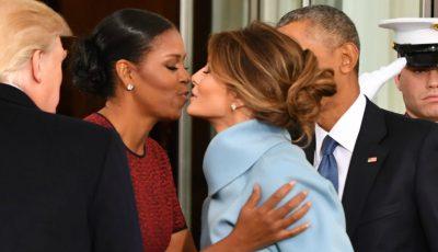 Ce cadou i-a oferit Melania Trump lui Michelle Obama de ziua investirii