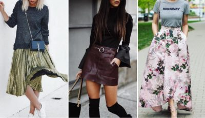 7 fuste pe care trebuie să le aibă în garderobă fiecare femeie