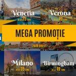 Foto: Mega Promoție Fly One! Zboară de la doar 35 euro spre Europa și Rusia!