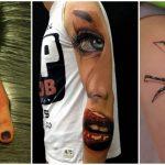 Foto: Tatuaje 3D. Sunt atât de reale încât ai vrea să le atingi