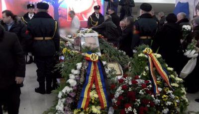 Ion Ungureanu este condus pe ultimul drum
