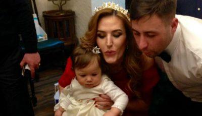 Reginei-Raluca i-a fost tăiat moțul. Vezi de ce petrecere a avut parte fiica Tatianei Heghea
