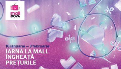 Avalanșă de reduceri: iarna la Shopping MallDova îngheață prețurile!