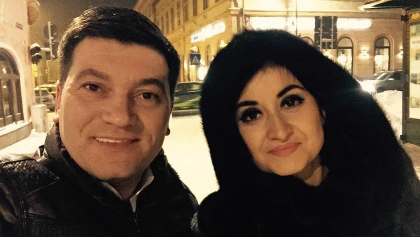 Foto: Corina Țepeș și Costi Burlacu pleacă în Canada!