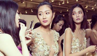 Olga Blanc și-a prezentat colecția la Harbin Fashion Week din China