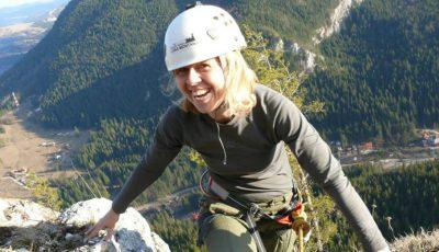 Diana Laur, medicul care escaladează munții!