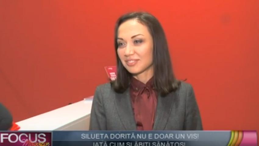 Galina Tomaș învață româncele să ducă un stil de viață sănătos!