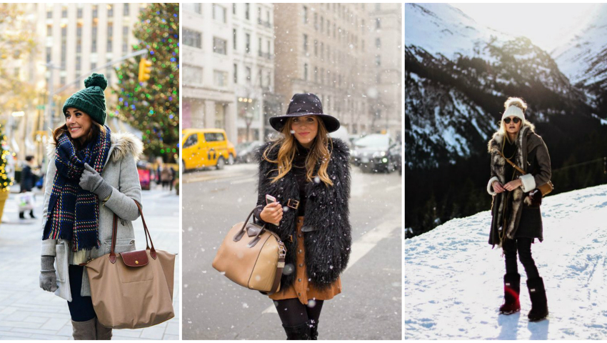 Foto: Ținute perfecte pentru zilele geroase de iarnă