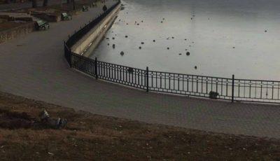 Parcul Valea Morilor abia renovat, supus vandalizării de către răufăcători!
