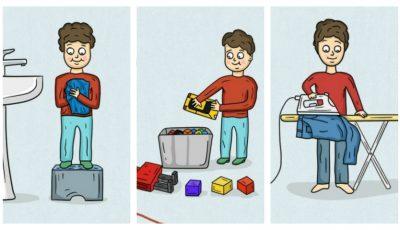 Ghid pentru părinți: ce treburi casnice poți cere copilului să facă, în funcţie de vârstă!