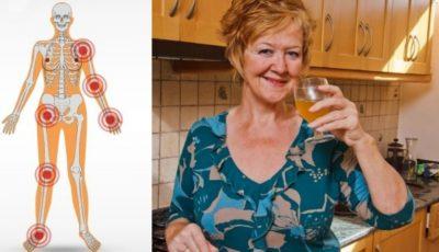 Această femeie susține că s-a vindecat de poliartrită cu oțet de mere