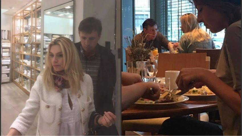 Foto: Dorin Chirtoacă a fost surprins la Viena cu o blondă