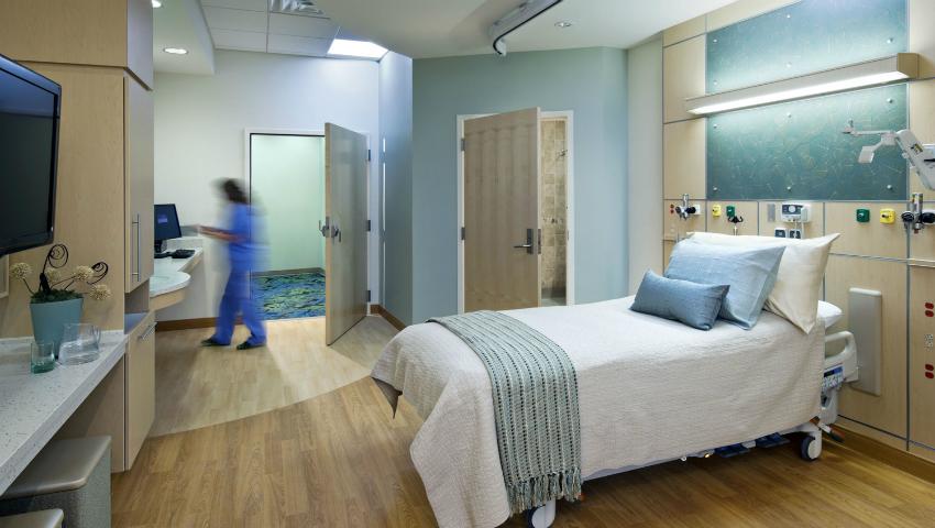 Ft. Belvoir Hospital, Location: Ft. Belvoir, VA, Architect: HDR Architecture