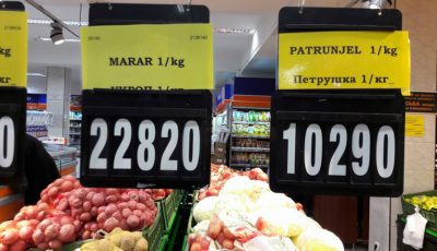 Prețuri uriașe la mărar și pătrunjel în magazinele din Capitală!