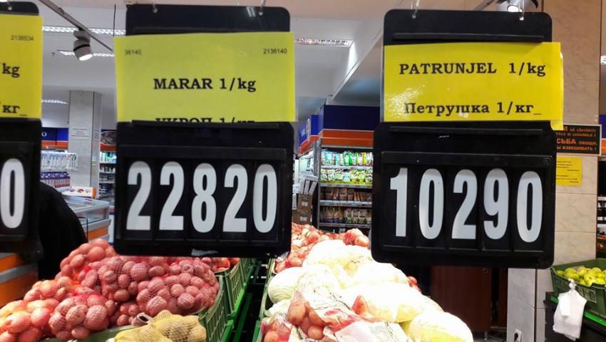 Foto: Prețuri uriașe la mărar și pătrunjel în magazinele din Capitală!