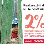 Foto: Transformă 2% din impozitul pe venit într-o șansă la o viață mai bună pentru copiii din familiile defavorizate  și bătrânii singuratici