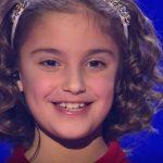 """Foto: O fetiță de 8 ani, de la un orfelinat din Hâncești, la show-ul """"Ты супер!"""" din Rusia! Vezi cum a cântat ,,Ioane, Ioane"""""""