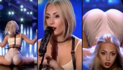 """Grație și senzualitate la ,,Românii au Talent""""! O tânără din Moldova a lăsat mască jurații cu mișcările ei de dans"""