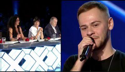 """Video! Un tânăr din Chișinău a impresionat jurații emisiunii ,,Românii au Talent"""" cu o piesă hip-hop!"""