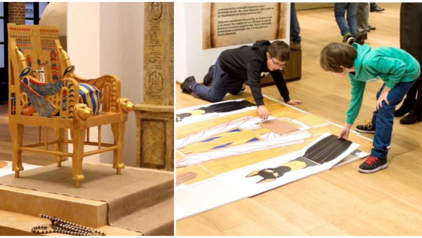 Expoziție istorică interactivă pentru copii la Muzeul Național de Istorie a Moldovei! Află detalii