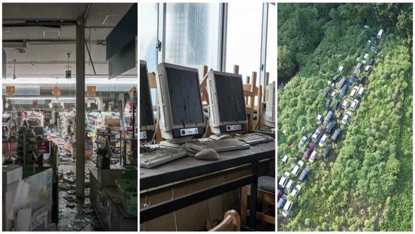 Imagini apocaliptice. Cum arată Fukushima peste 4 ani, după ce oamenii au abandonat regiunea