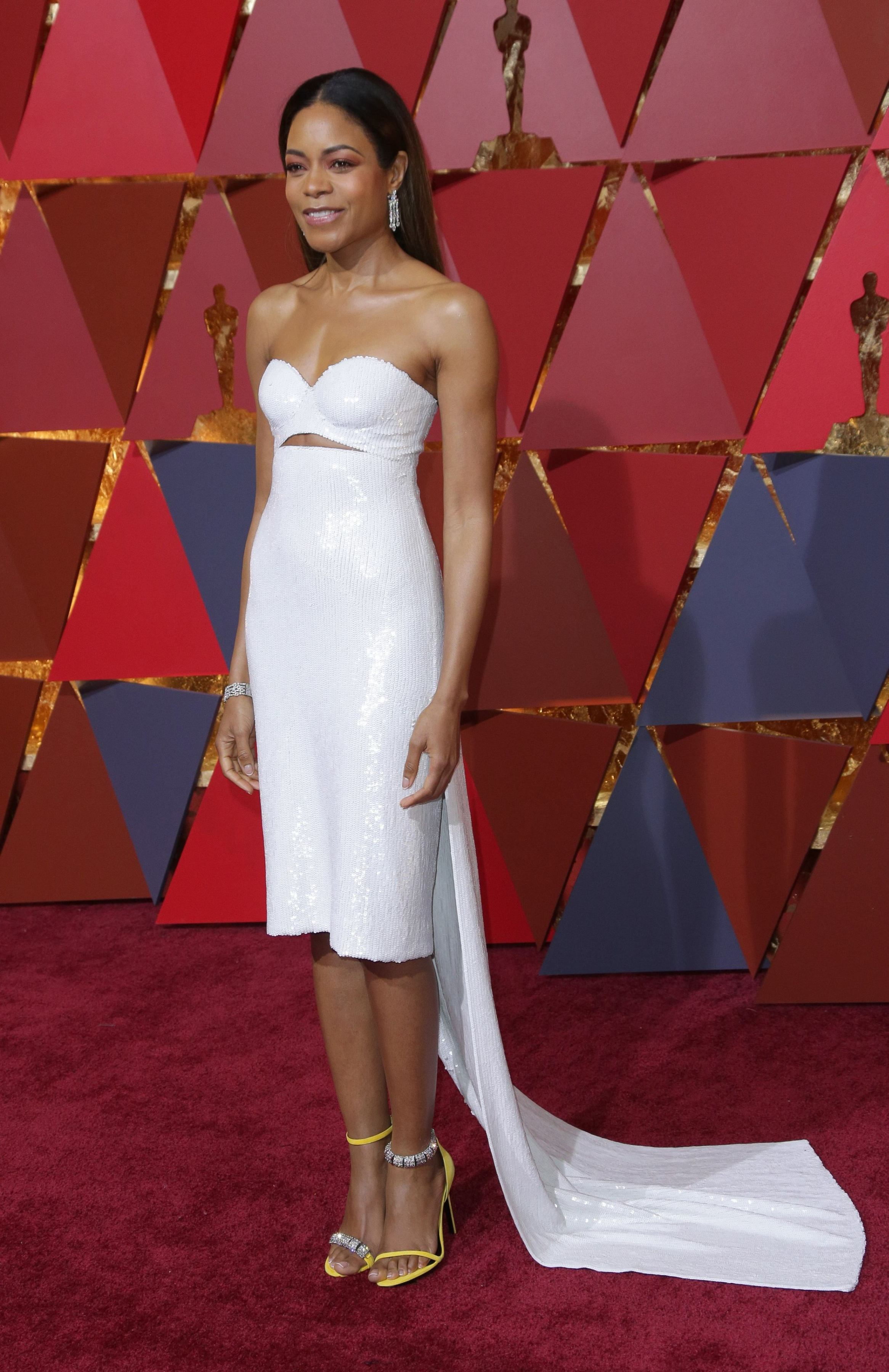 Mandatory Credit: Photo by Jim Smeal/BEI/Shutterstock (8434881it) Naomie Harris 89th Annual Academy Awards, Arrivals, Los Angeles, USA - 26 Feb 2017