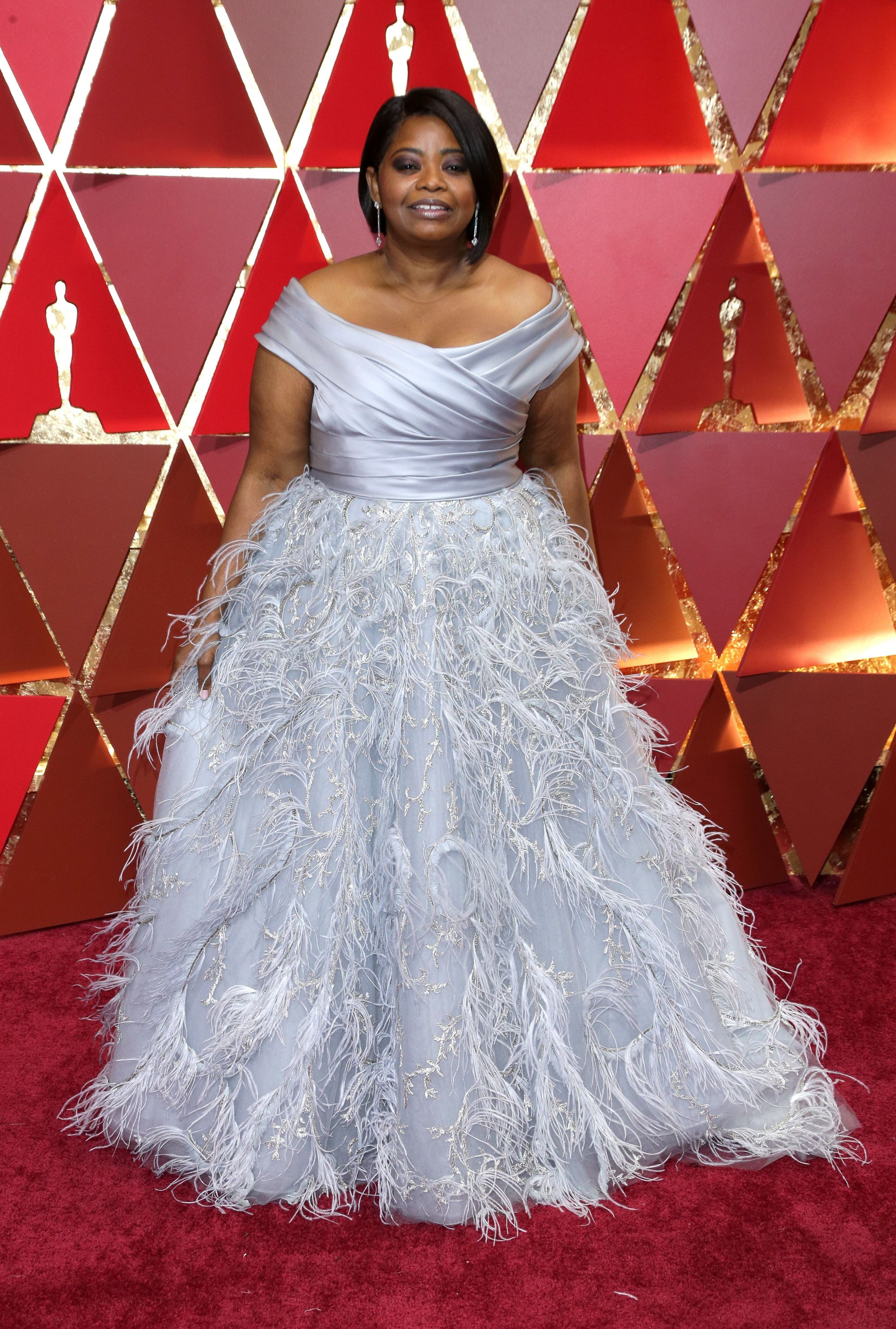 Mandatory Credit: Photo by Jim Smeal/BEI/Shutterstock (8434881kw) Octavia Spencer 89th Annual Academy Awards, Arrivals, Los Angeles, USA - 26 Feb 2017