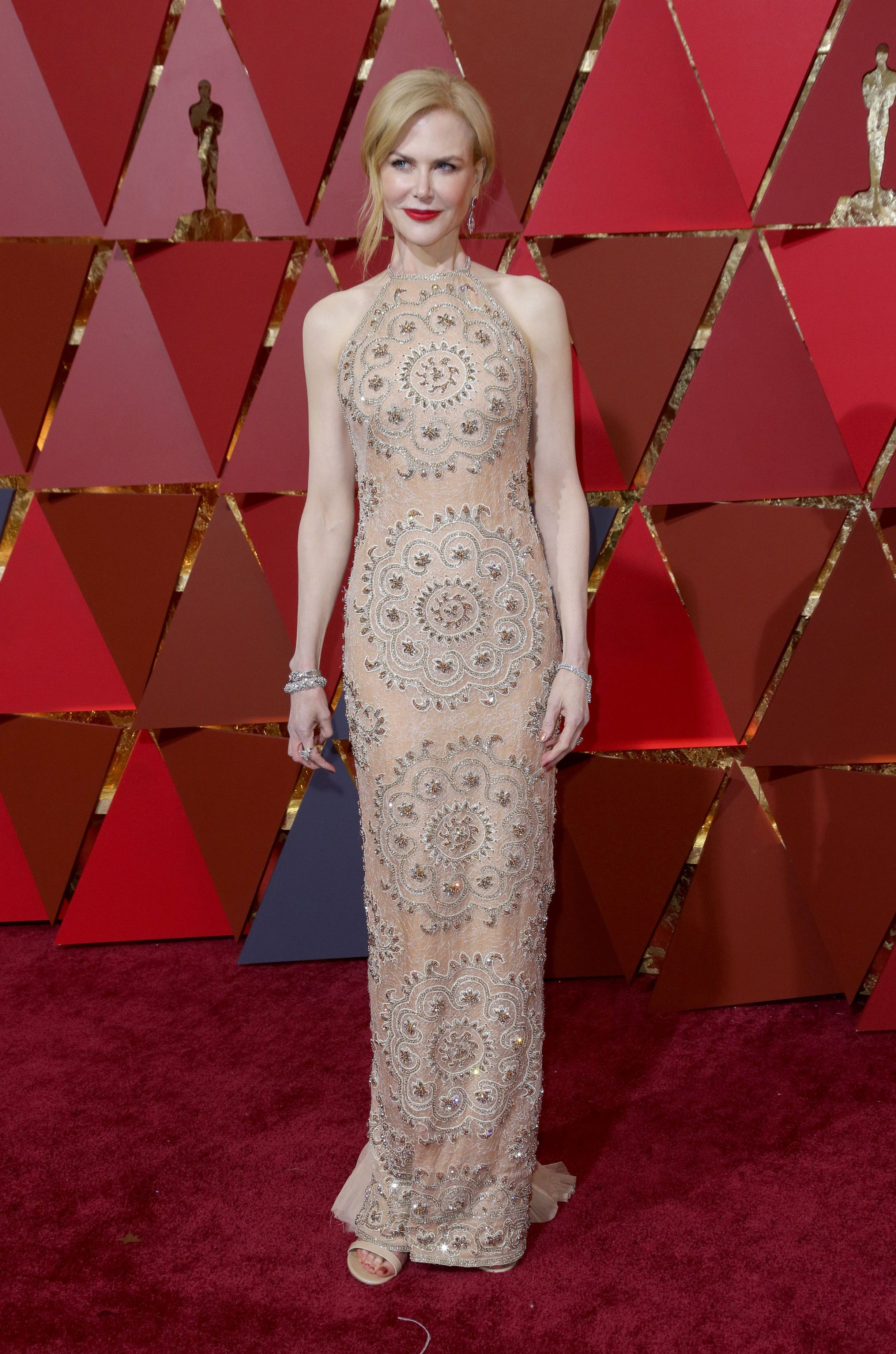 Mandatory Credit: Photo by Jim Smeal/BEI/Shutterstock (8434881ol) Nicole Kidman 89th Annual Academy Awards, Arrivals, Los Angeles, USA - 26 Feb 2017