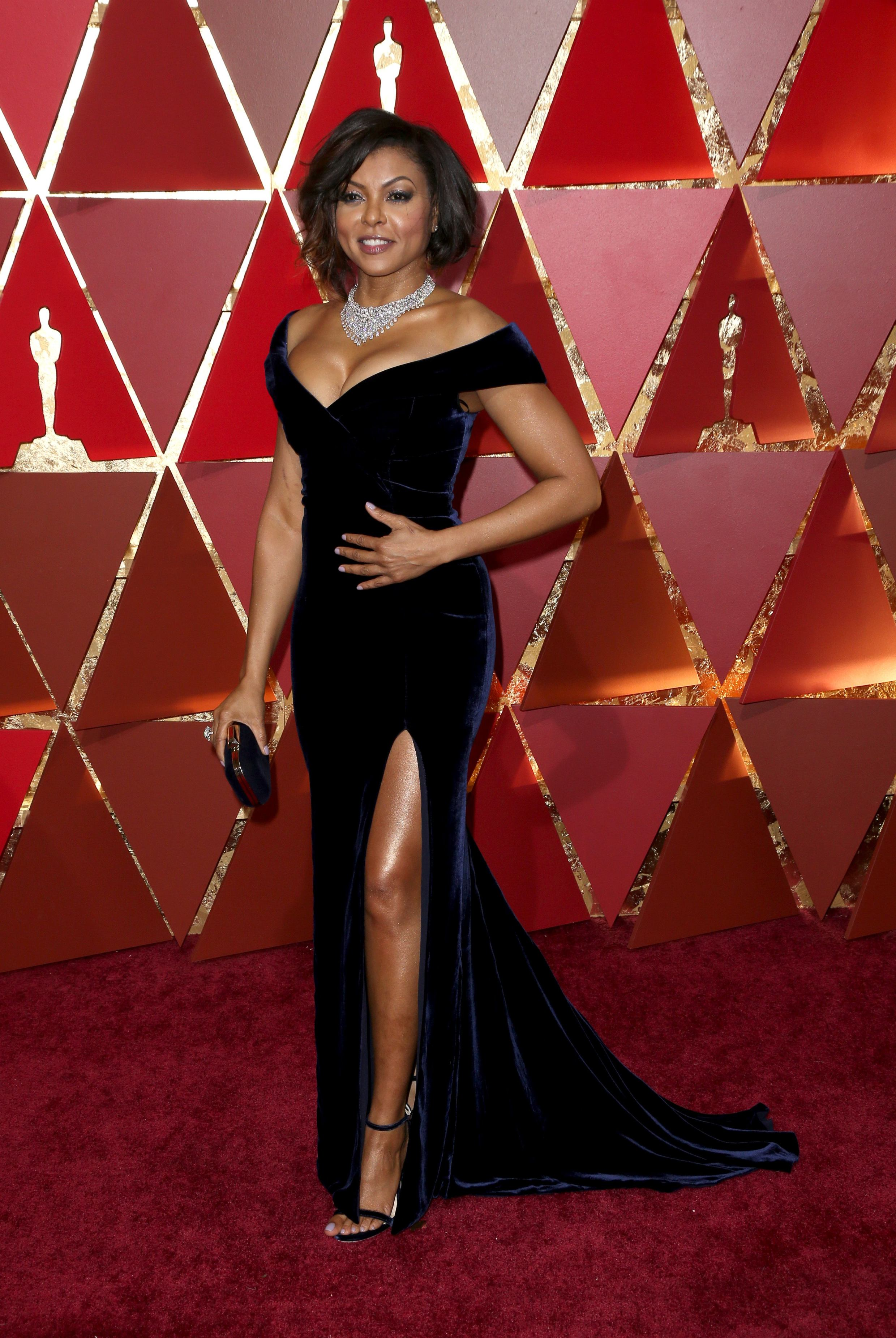 Mandatory Credit: Photo by Jim Smeal/BEI/Shutterstock (8434881tr) Taraji P. Henson 89th Annual Academy Awards, Arrivals, Los Angeles, USA - 26 Feb 2017