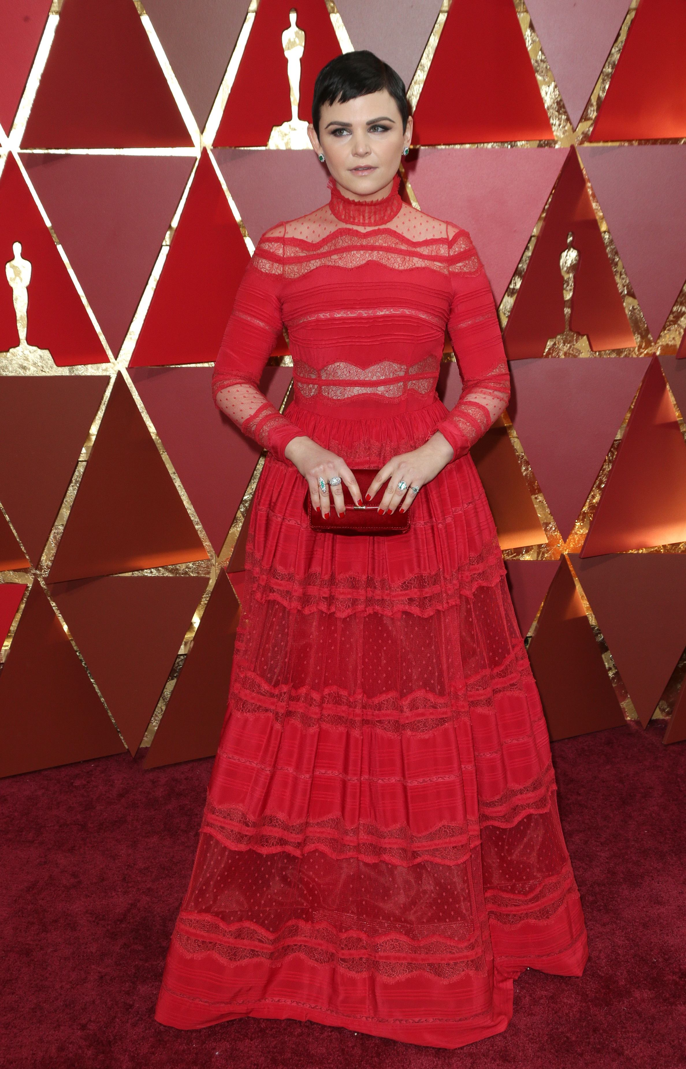 Mandatory Credit: Photo by Jim Smeal/BEI/Shutterstock (8434881un) Ginnifer Goodwin 89th Annual Academy Awards, Arrivals, Los Angeles, USA - 26 Feb 2017