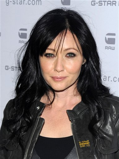 "FILE - In this Feb. 16, 2010 file photo, Shannen Doherty attends the G-Star Fall 2010 collection, in New York. Doherty will compete on the upcoming spring season of ""Dancing With the Stars."" (AP Photo/Peter Kramer, file)"