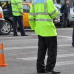 Foto: Accident violent în capitală: O femeie a fost lovită de un taxi pe trecerea de pietoni